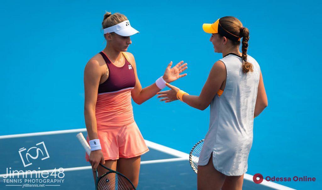 Одесская теннисистка – в четвертьфинале парного разряда турнира в Пекине