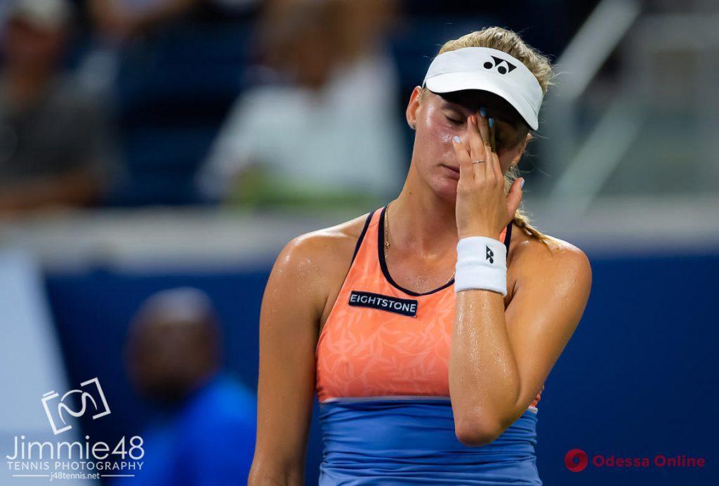 Одесская теннисистка проиграла 785 ракетке мира