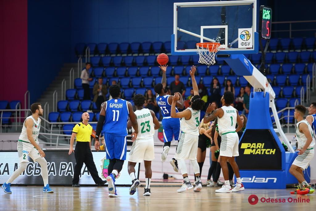 Баскетбол: первая победа «Одессы», первое поражение «Химика»