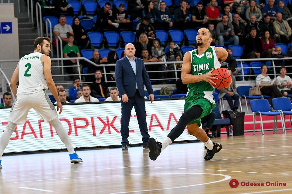 Баскетбол: «Химик» побеждает, БК «Одесса» уступает во втором овертайме