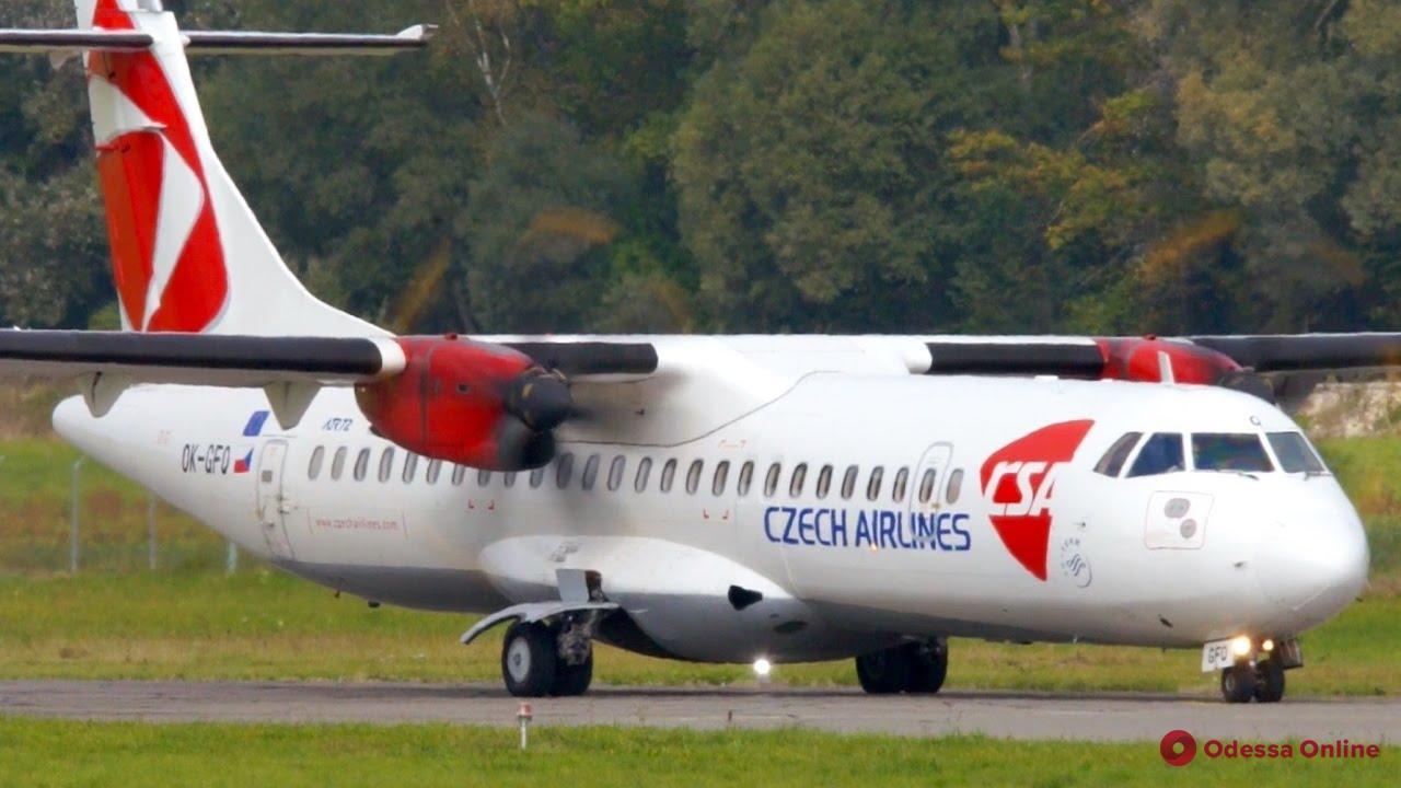 Из Одессы в Прагу можно будет летать зимой