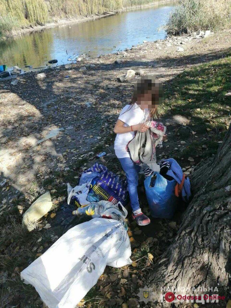 В Одессе на улице нашли семерых голодных и замерзших детей