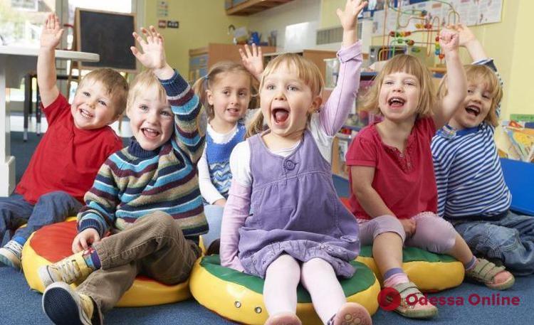 С 1 сентября детсады в Одессе хотят открыть в обычном режиме