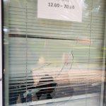 В парке Шевченко вандалы разбили окна в медпункте