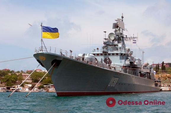 В Одессе снимают документальный фильм о становлении украинского флота