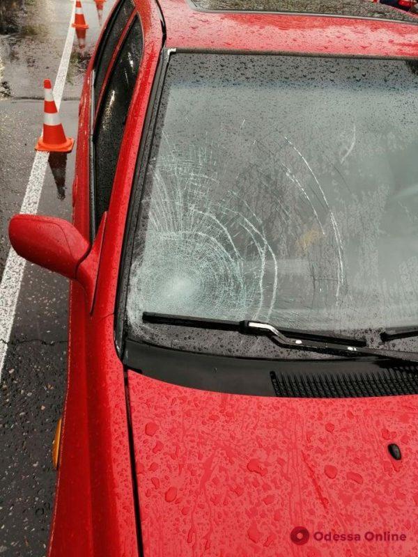 На Краснова на пешеходном переходе Nissan сбил мужчину