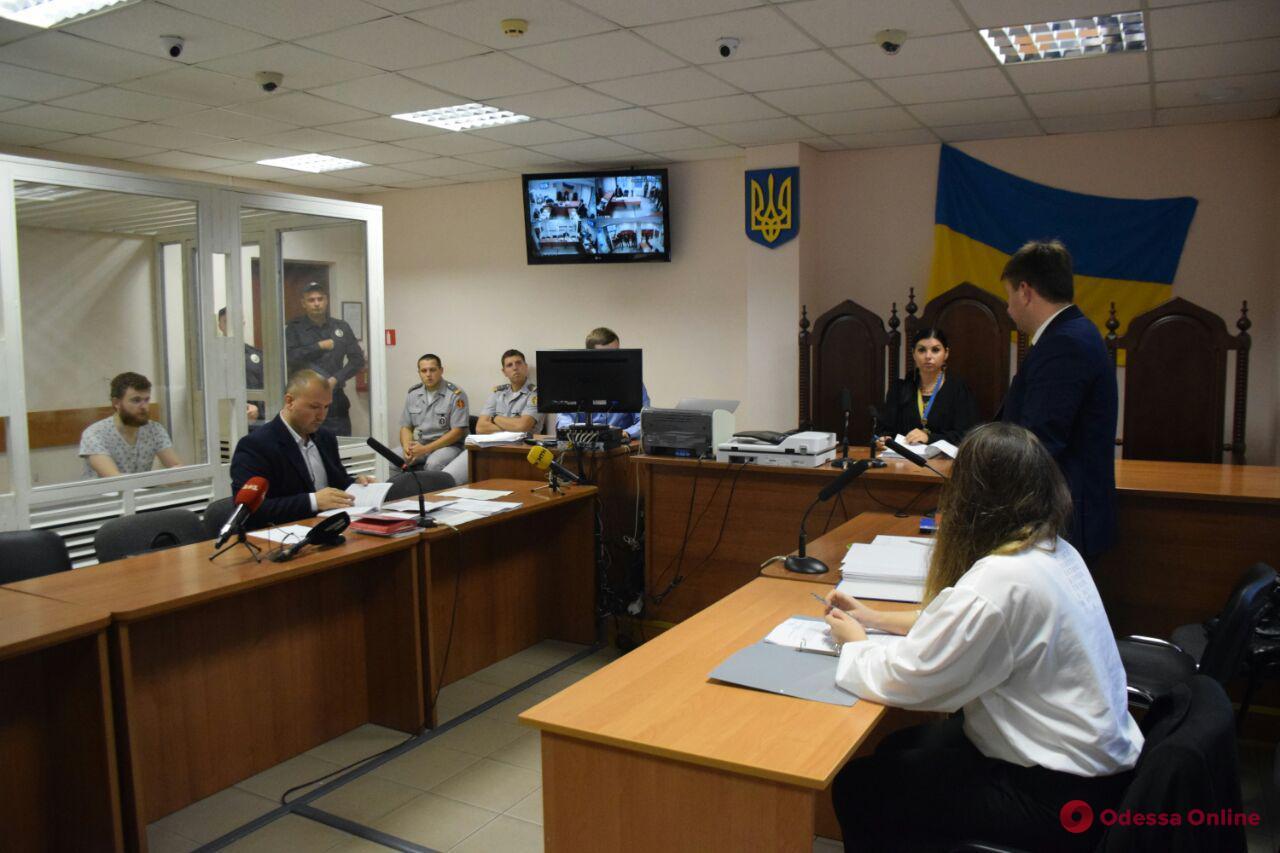 Одесский суд продлил арест убийце 11-летней Даши Лукьяненко
