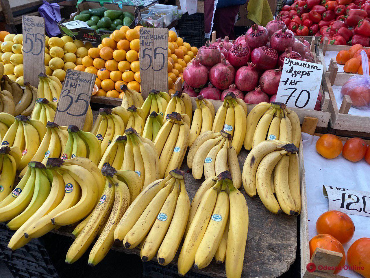 Маслята, тыква и клубника: воскресные цены на одесском «Привозе»