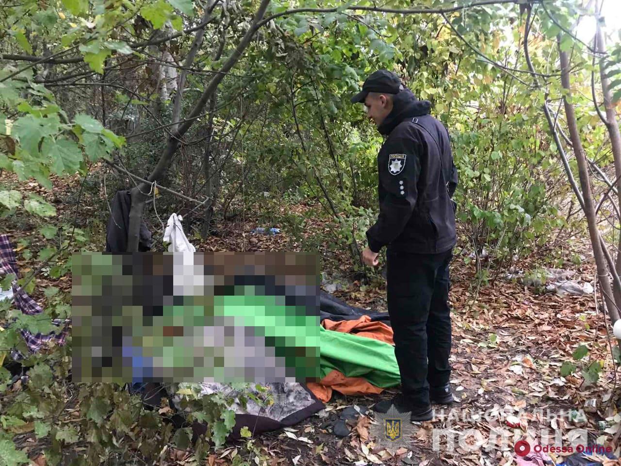 В Одессе возле железной дороги нашли обугленный труп