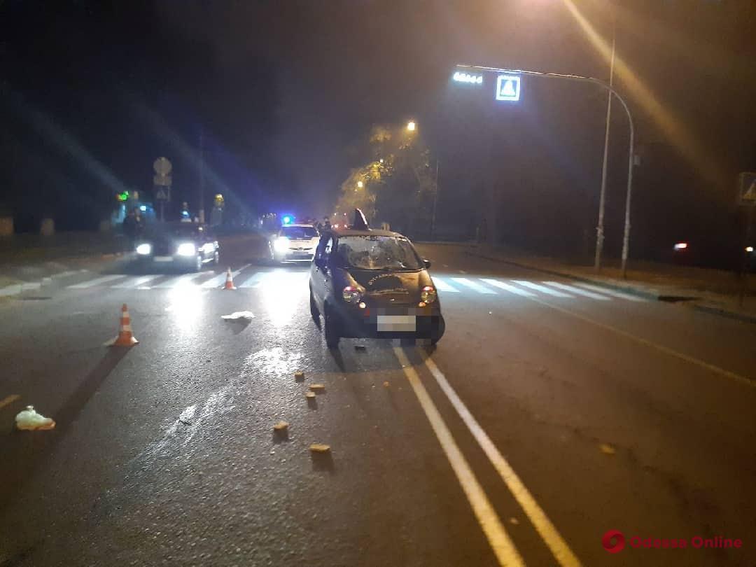 На Фонтанской дороге легковушка сбила мужчину