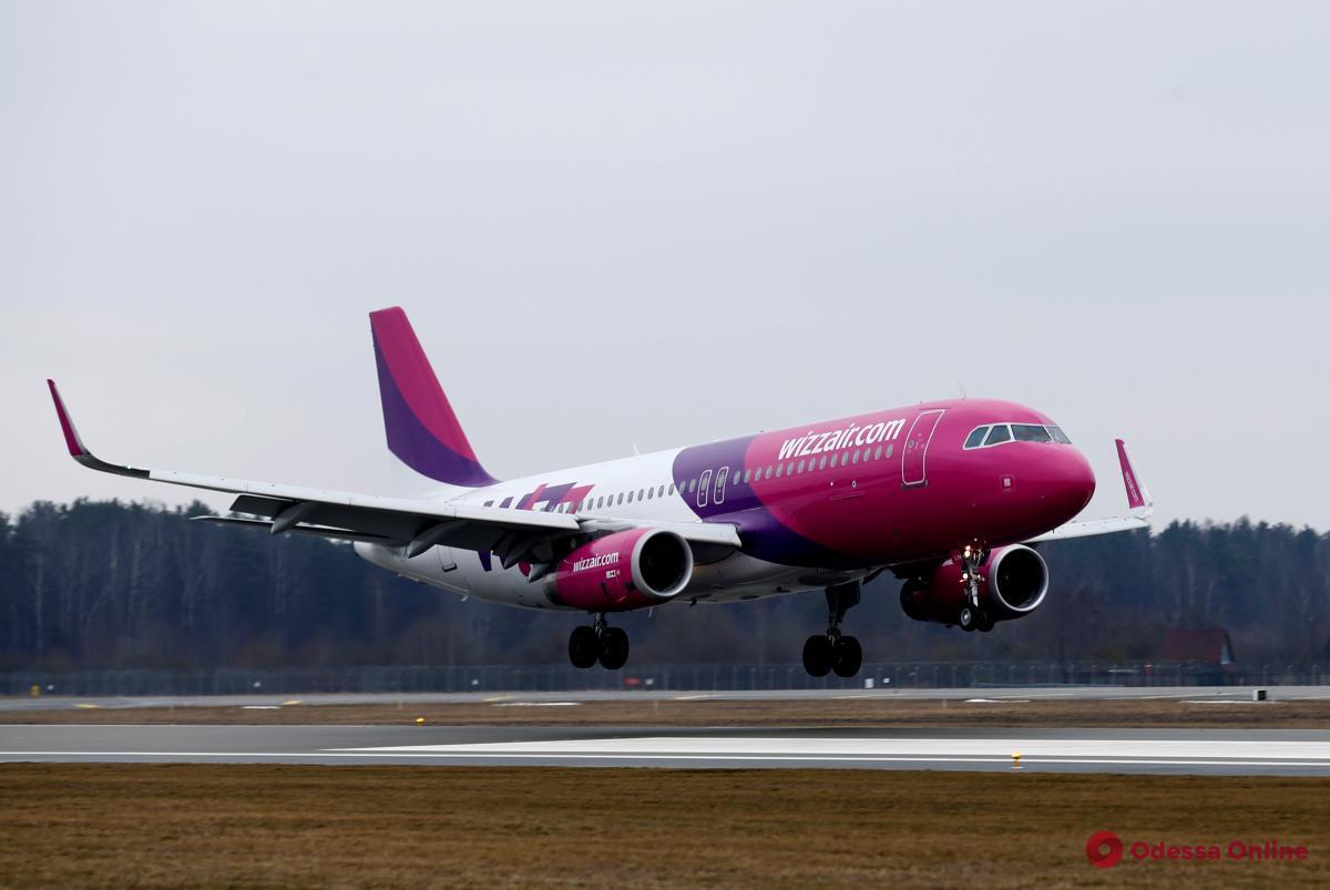Авиакомпания Wizz Air запускает новый авиарейс из Одессы