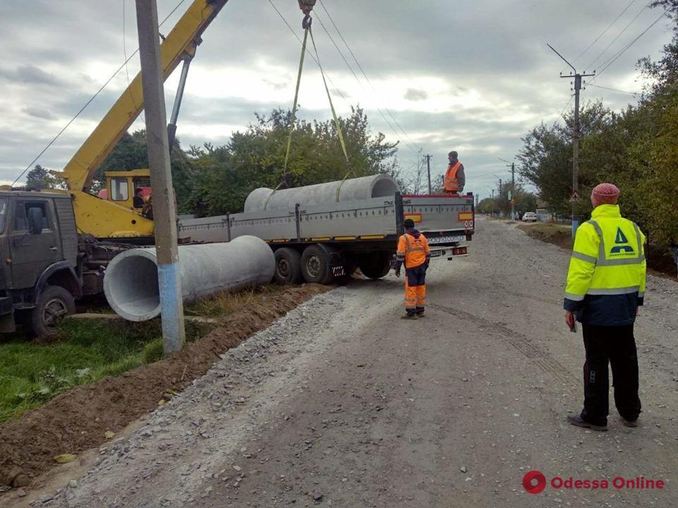 В Одесской области вблизи курортных сел начался ремонт автодороги (фото)