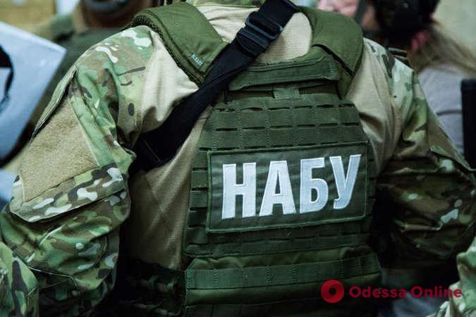 В Одессе сотрудники НАБУ обыскали автомобиль сына народного депутата