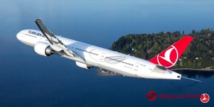 Turkish Airlines снова будет летать в Одессу
