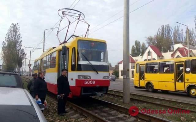 Из-за ДТП на Пересыпи не ходили трамваи