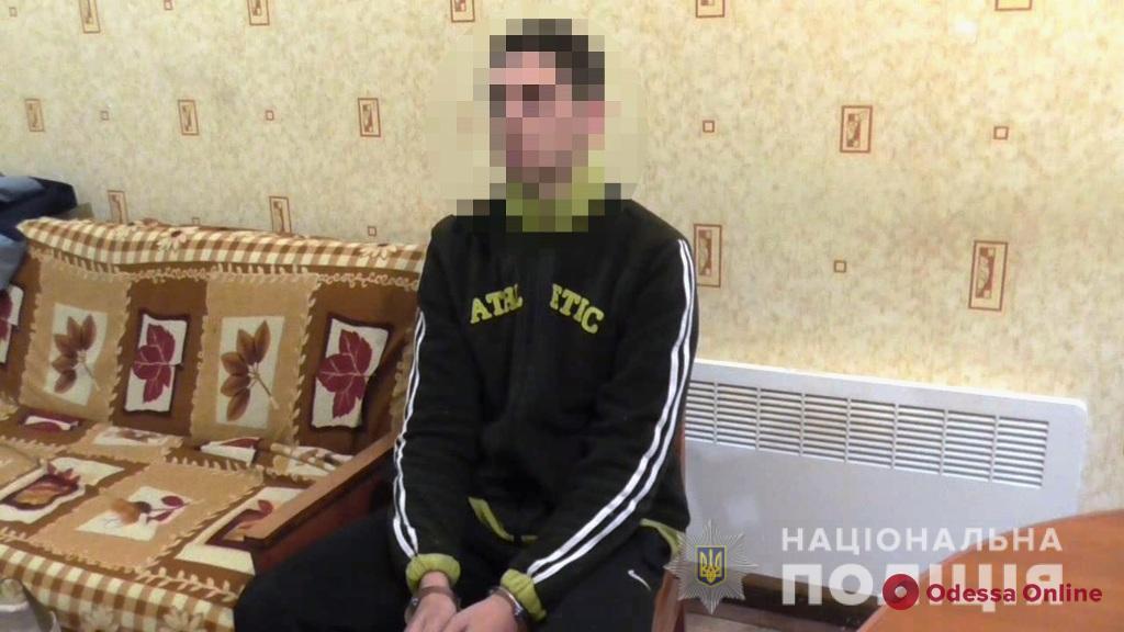 В Одесской области 19-летний разбойник напал на пожилого мужчину
