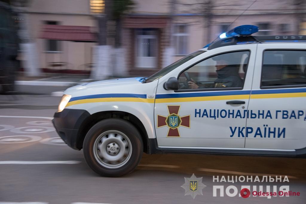 Полиция и Нацгвардия начали отработку Одесской области
