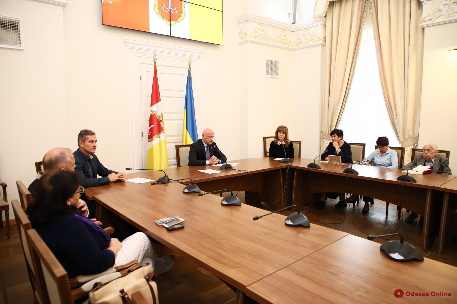 В мэрии рассказали о преимуществах Одессы в статусе литературного города ЮНЕСКО