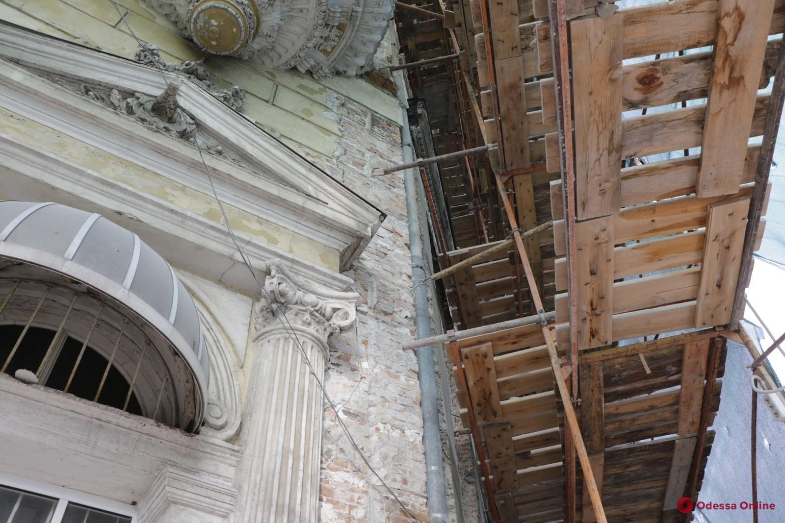 В мэрии рассказали о ходе реставрации дома Либмана (фото)