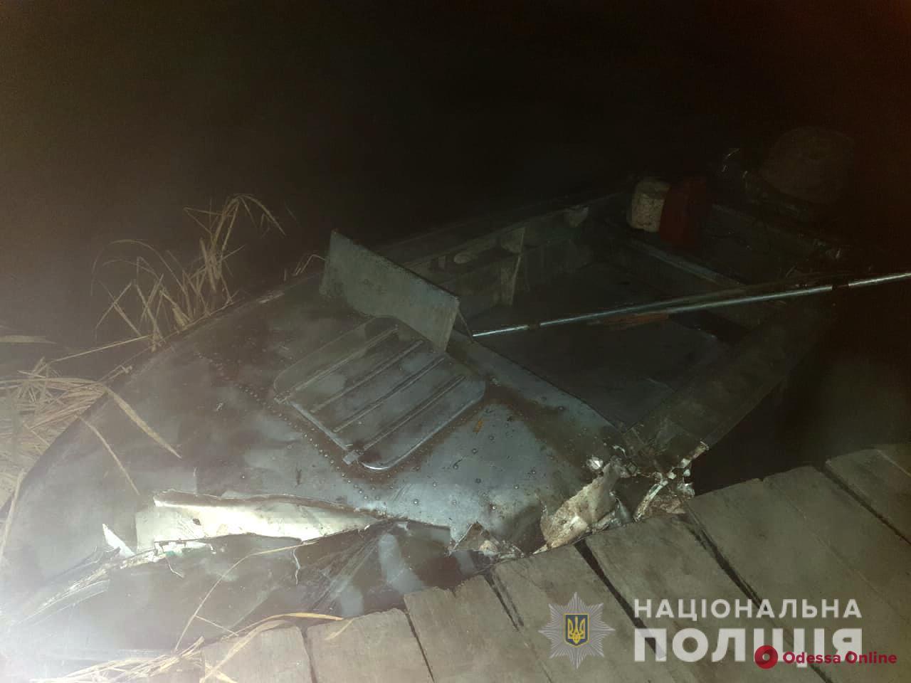 В Одесской области столкнулись два катера — погиб рыбак