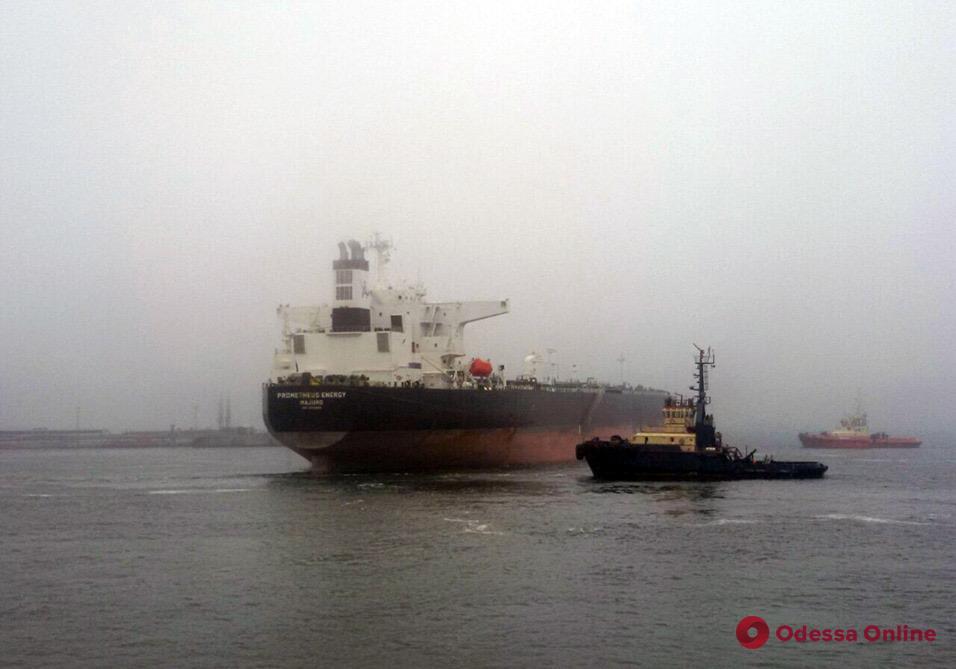 Одесский порт принял первый танкер с нефтью из Ливии