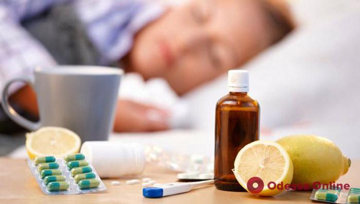 За неделю более 4 тысяч одесситов заболели ОРВИ и гриппом