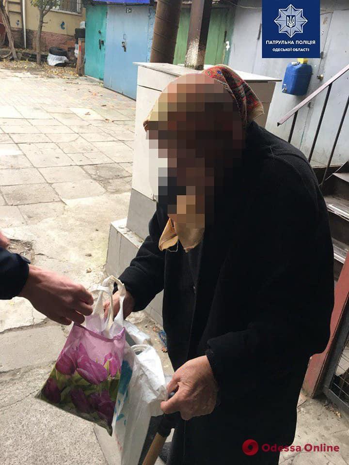 На Молдаванке грабитель напал на 85-летнюю одесситку