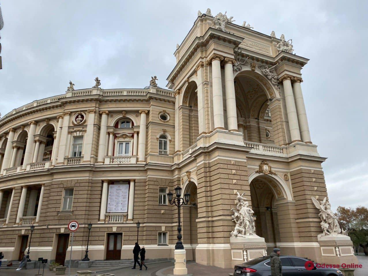 Одесскому оперному театру сделали необычный подарок