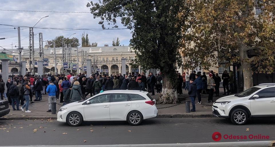 В Одессе «минировали» железнодорожный вокзал