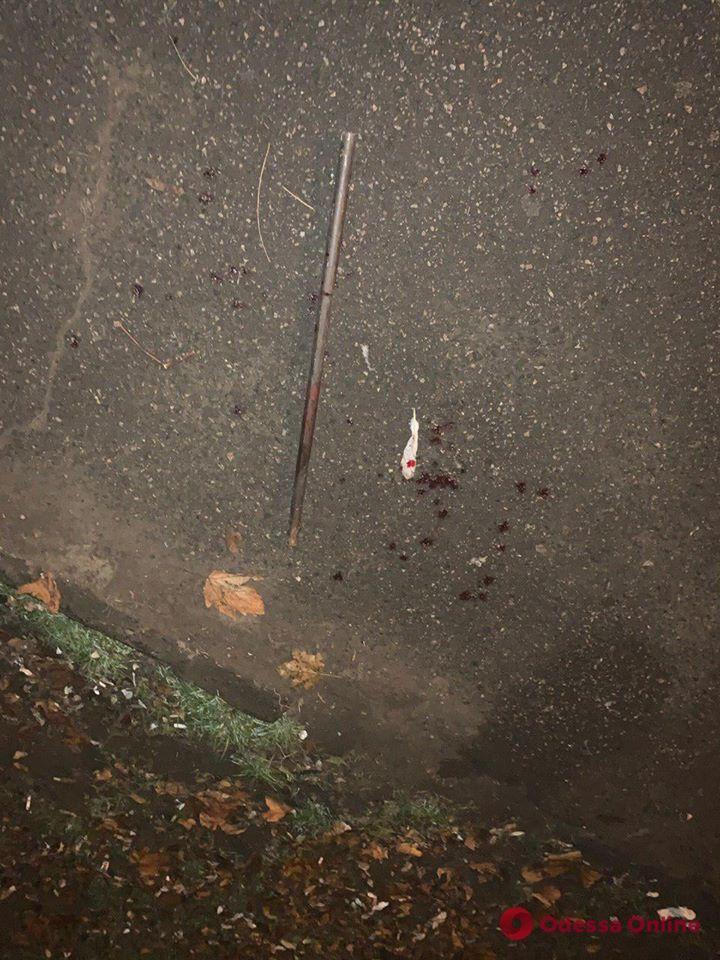 На Молдаванке грабитель набросился с арматурой на одессита