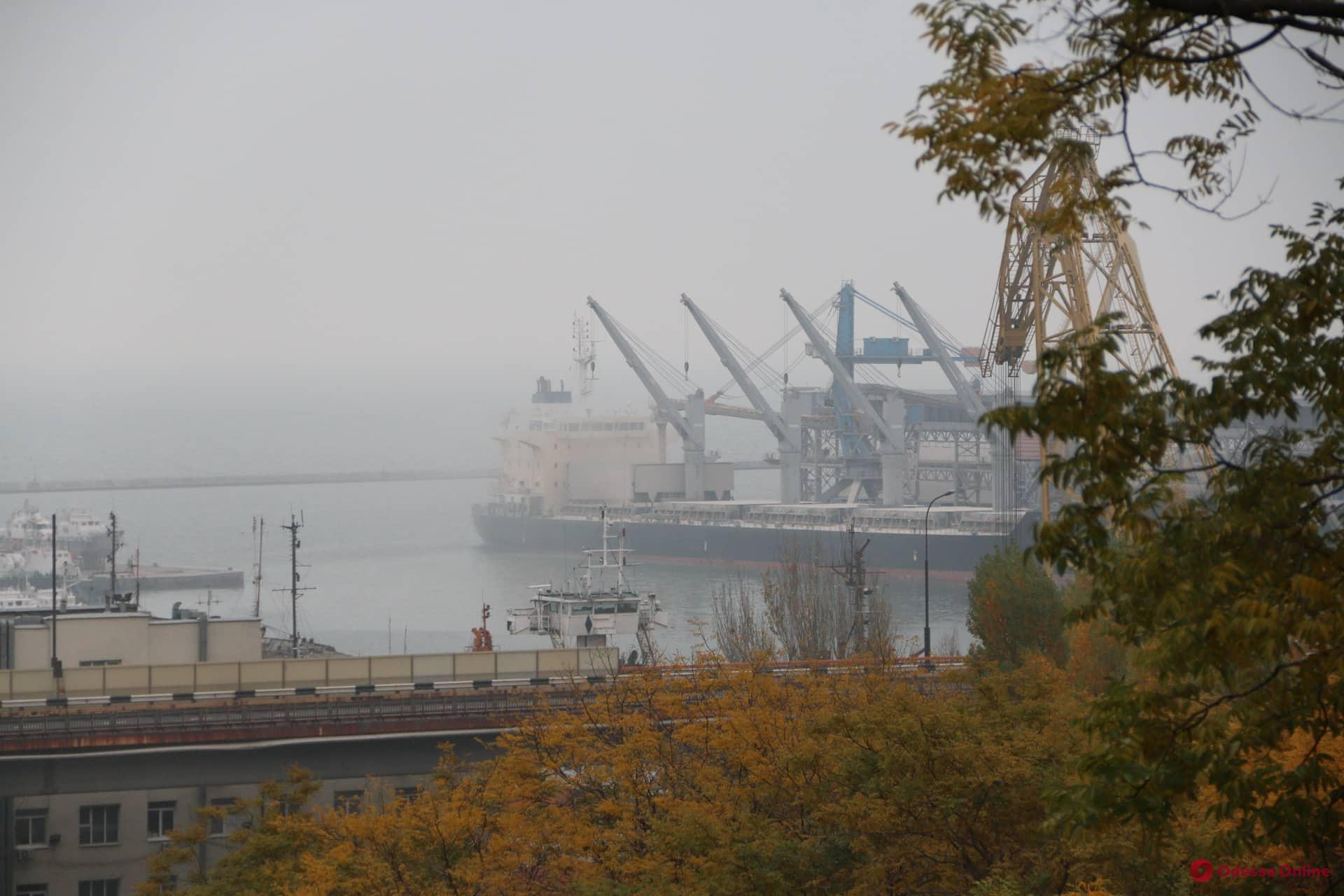 Туман: в Одесской области ограничена деятельность двух портов