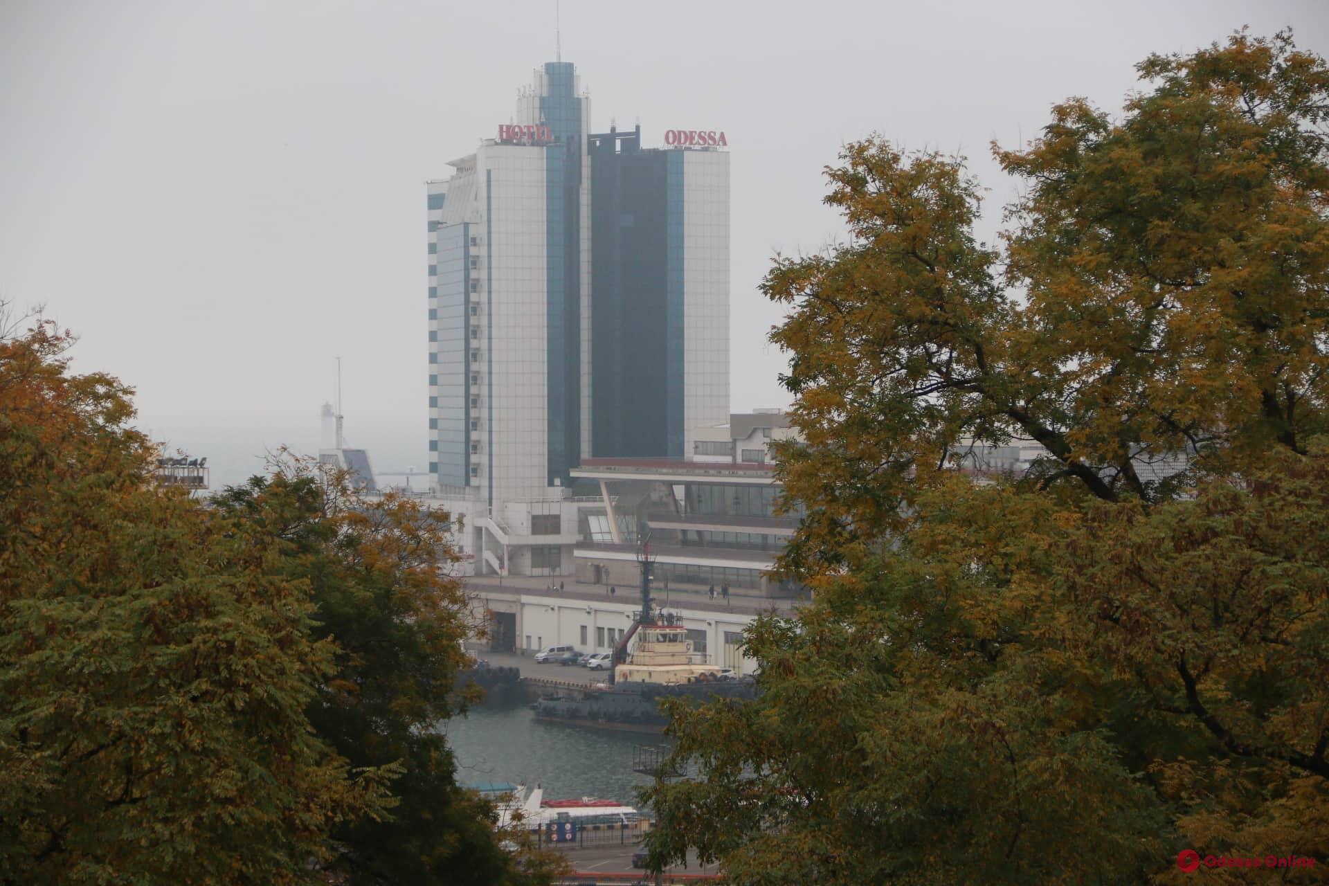 В Одессе и области из-за тумана объявлено штормовое предупреждение