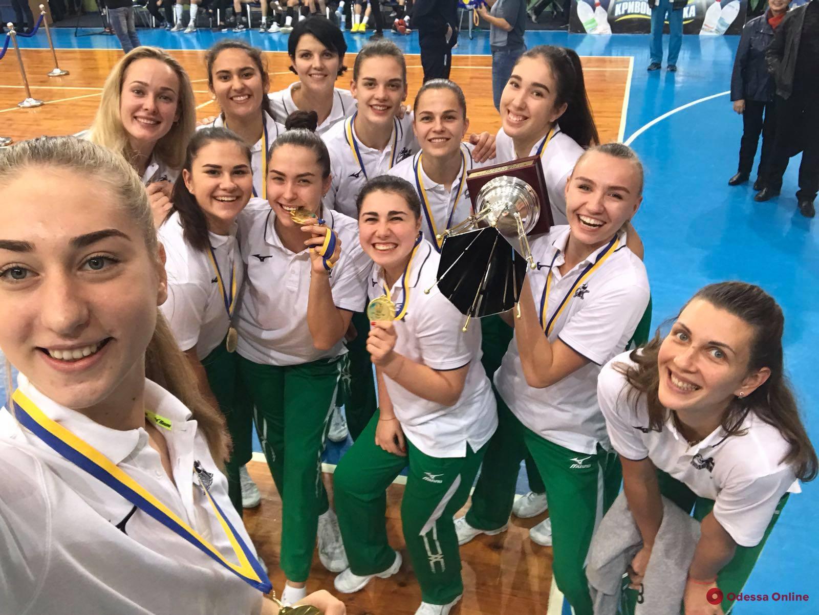 Волейбол: южненский «Химик» завоевал четвертый Суперкубок Украины