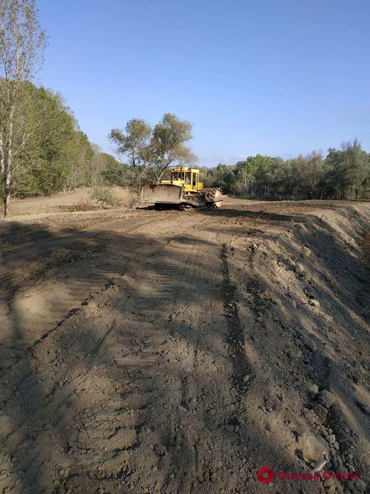 На Дунае завершается реконструкция защитной дамбы