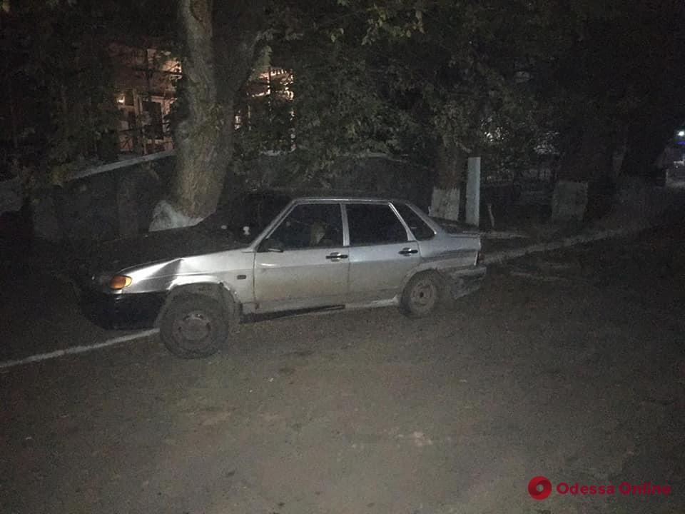 В Одесской области пьяный водитель устроил ДТП и пытался сбежать