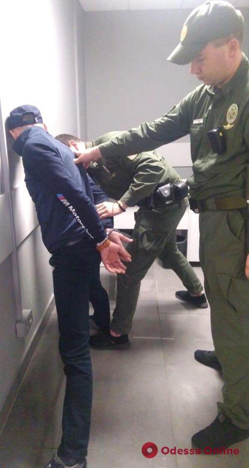 В Одесском аэропорту задержали грабителя из Молдовы