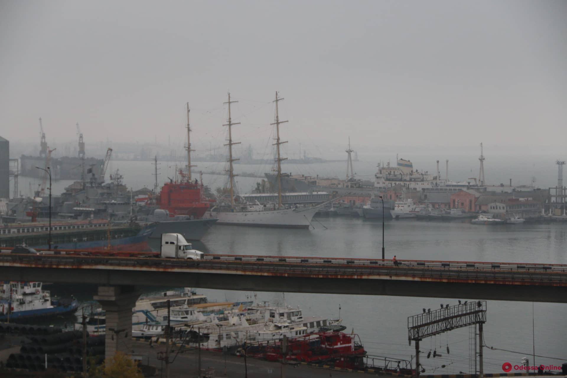 В Одесской области из-за тумана ограничена деятельность морских портов