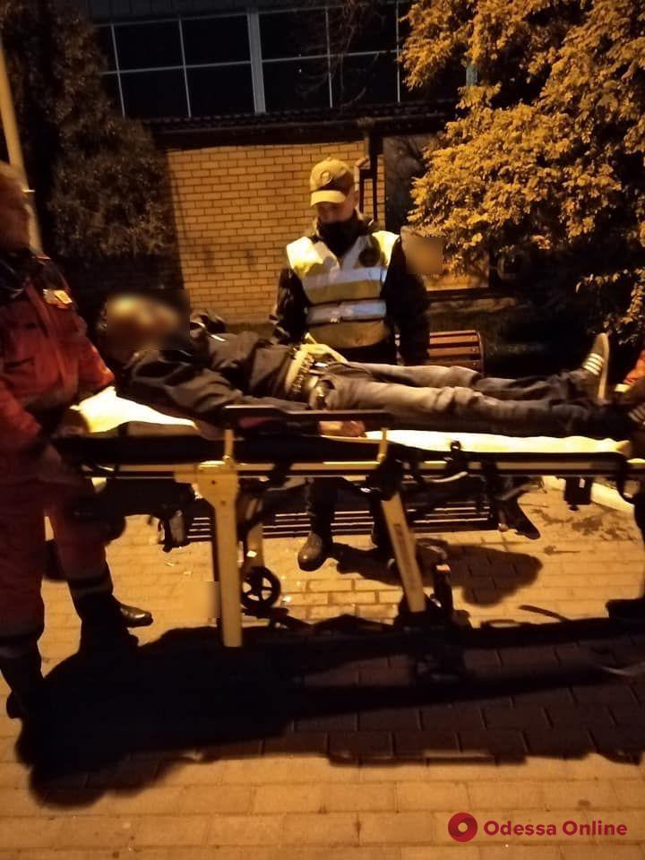 Нацгвардейцы спасали впавшего в кому измаильчанина