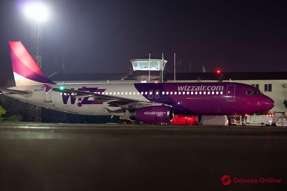 Одесский аэропорт принял первый рейс венгерского лоукостера Wizz Air