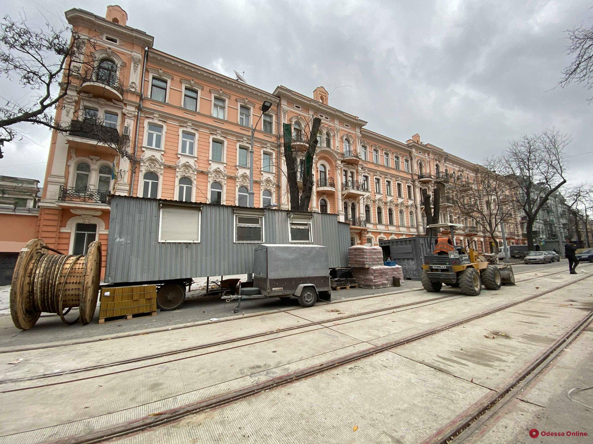 Капитальный ремонт улицы Софиевской подходит к завершению (фото)