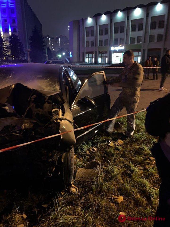 ДТП на проспекте Шевченко: за рулем Toyota был пьяный сотрудник военного госпиталя
