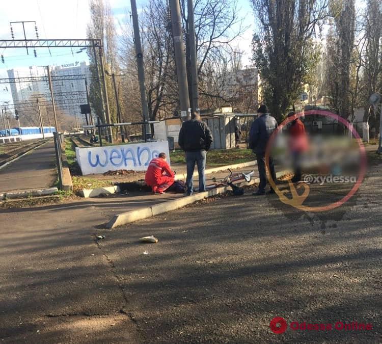 В Одессе возле железнодорожной станции нашли труп