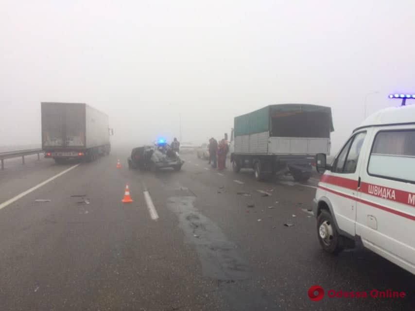 В районе Клеверного моста произошла смертельная авария