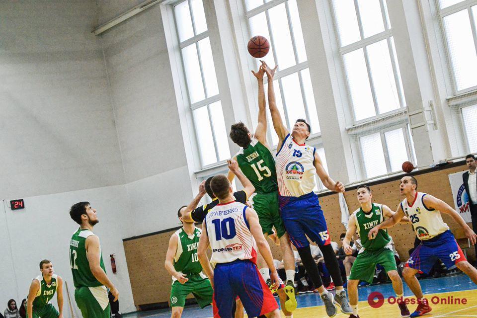 Баскетбол: «резервисты» «Химика» упустили шанс выйти в четвертьфинал Кубка Украины
