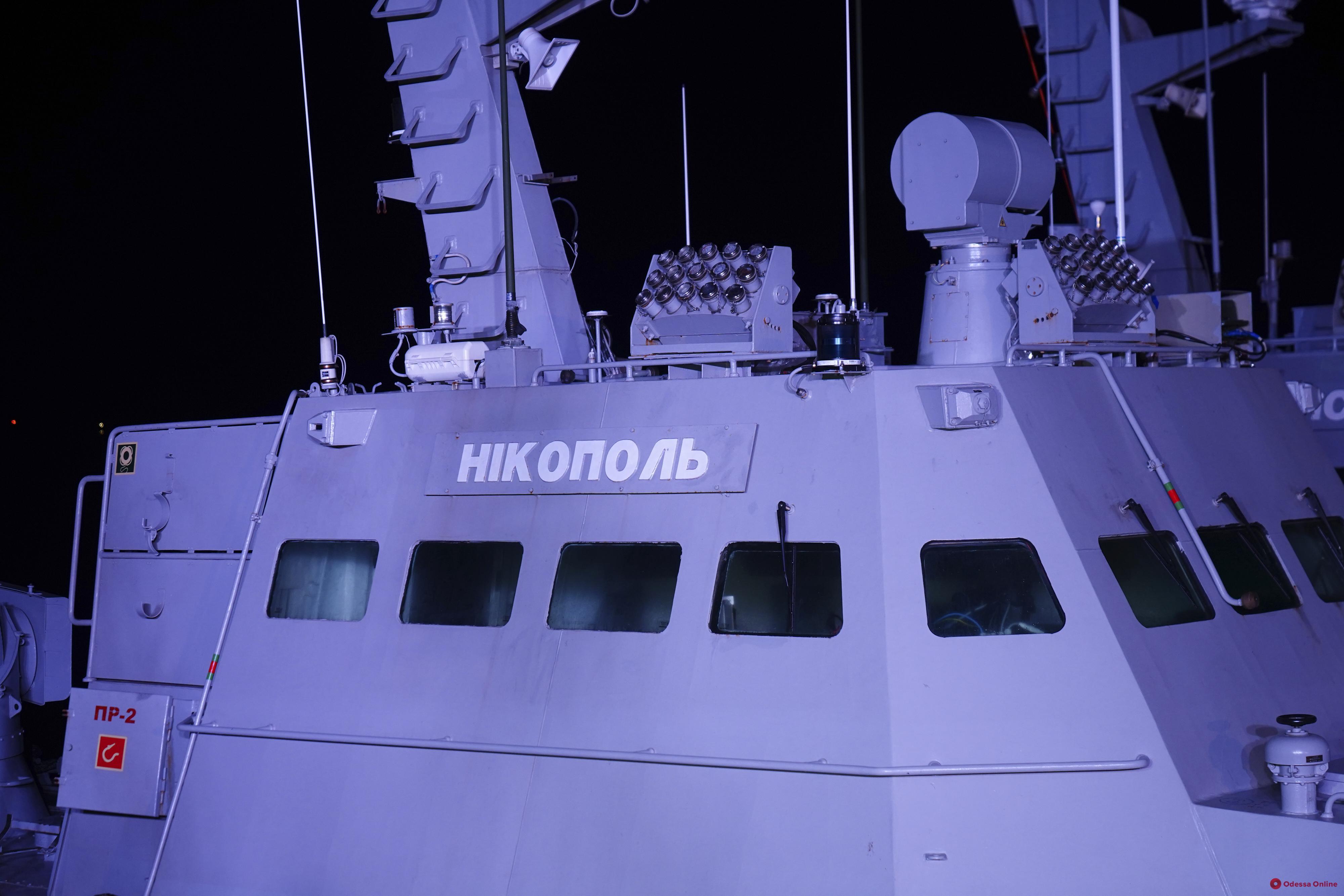 Зеленский прибыл в Очаков на осмотр возвращенных Россией украинских кораблей (фото)