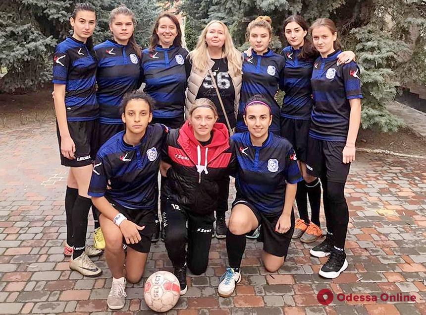 Одесский «Черноморец» вышел в следующий этап чемпионата Украины среди девушек