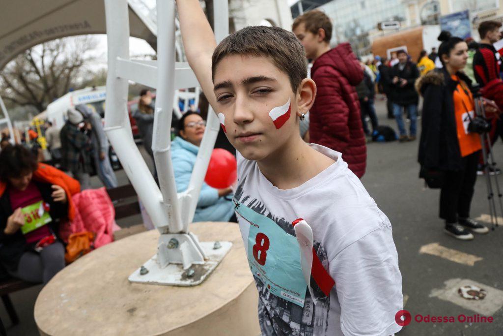 Дни Польши: полтысячи одесситов приняли участие в «Забеге Независимости»