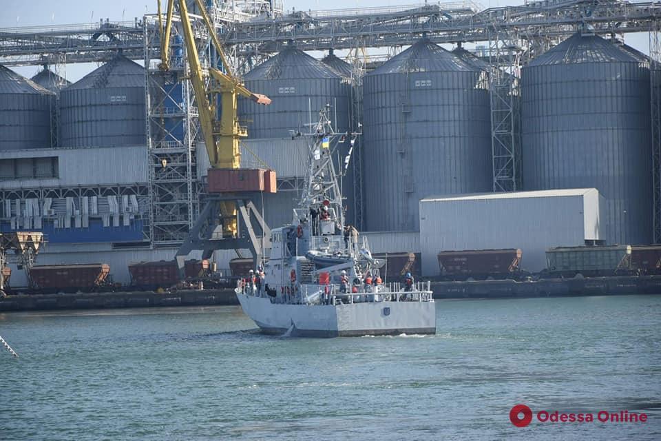 В Одессе прошли ходовые испытания американских патрульных катеров