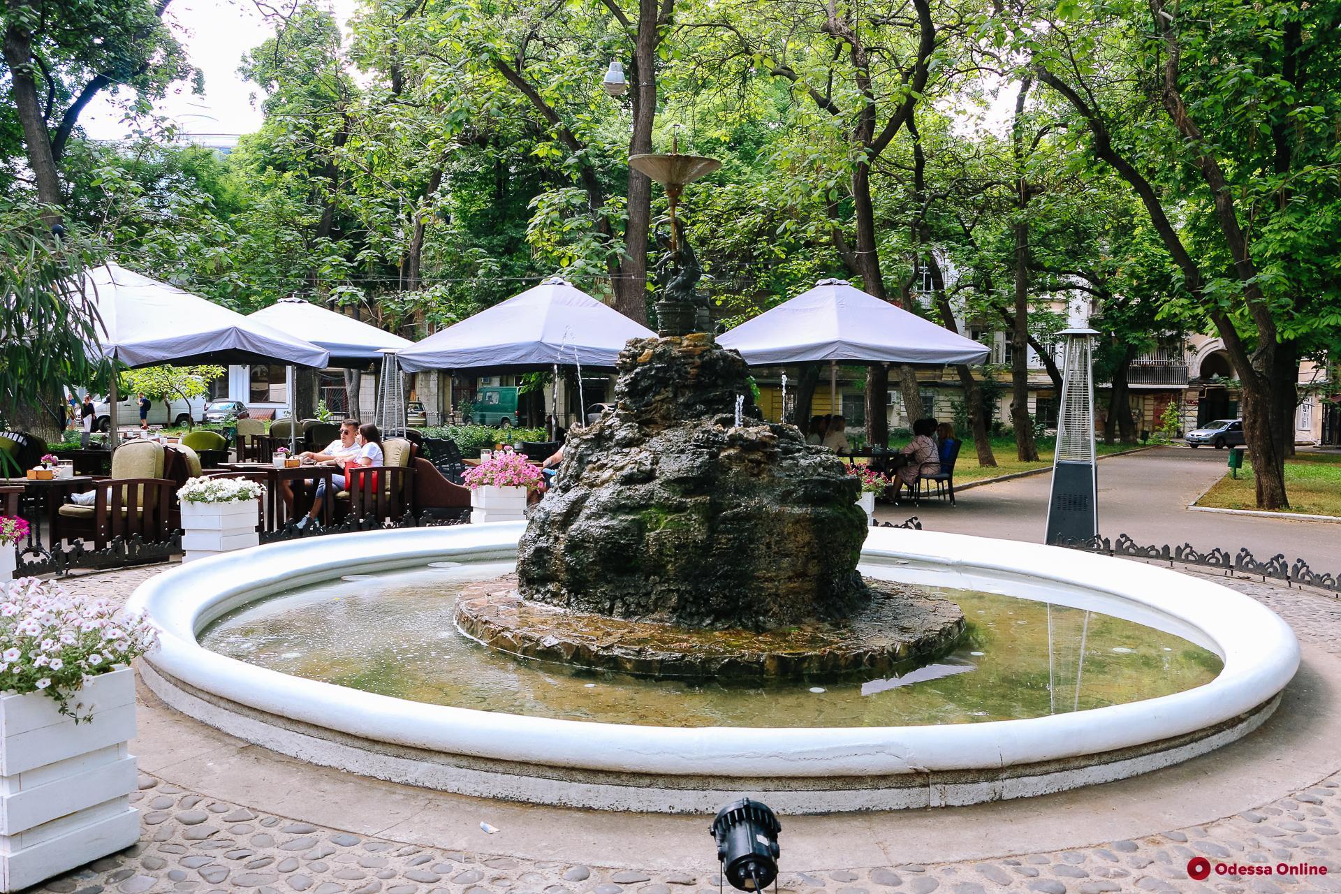 В Одессе благоустроят сквер «Пале-Рояль»