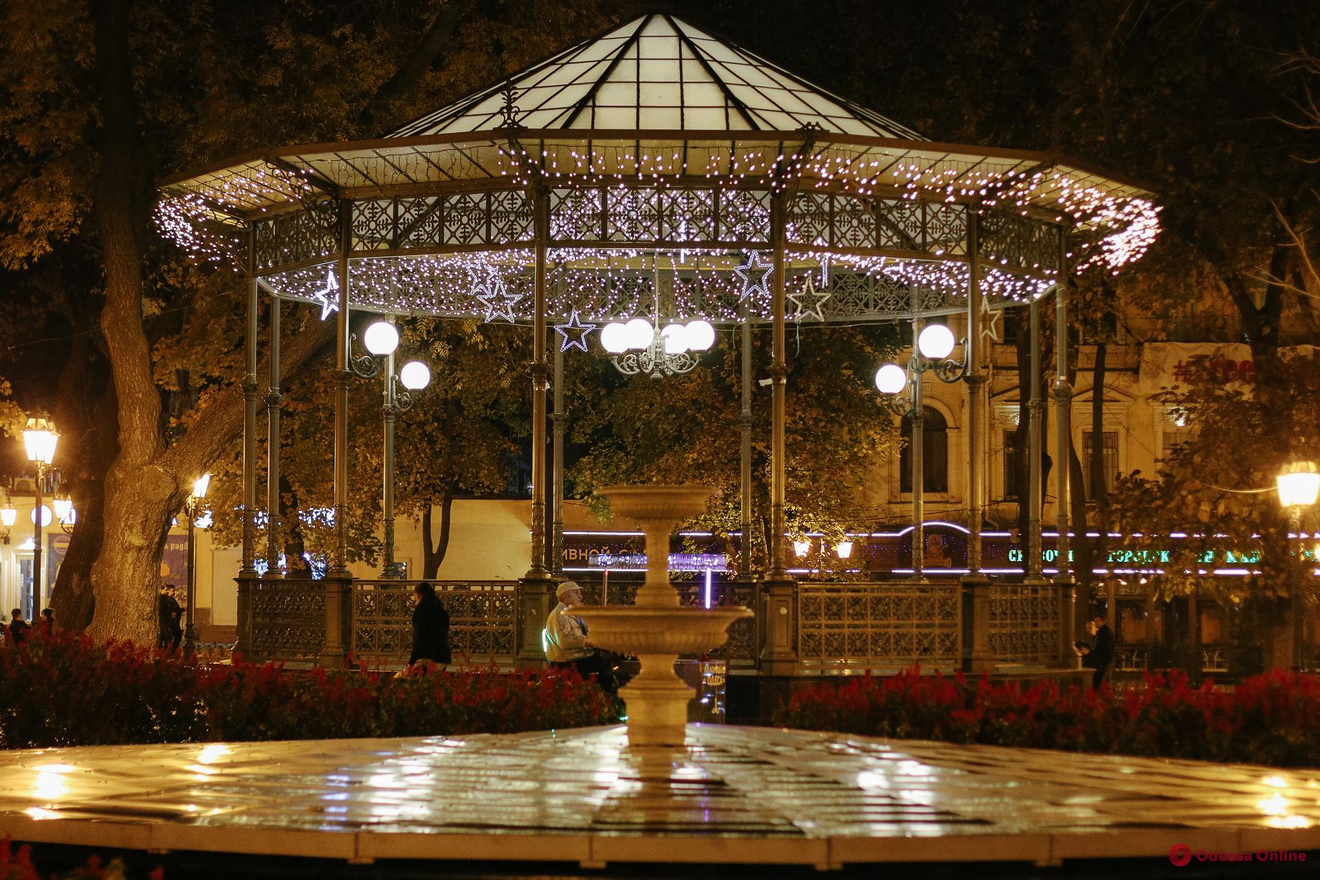 Ночная осенняя Одесса (фоторепортаж)